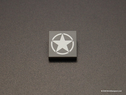 Printed Parts - Star w/ Broken Circle
