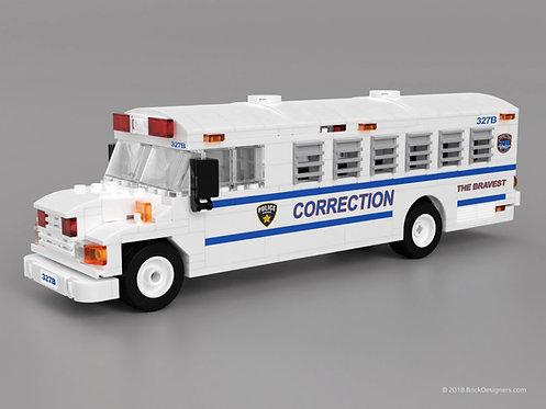 Lego Prison Bus