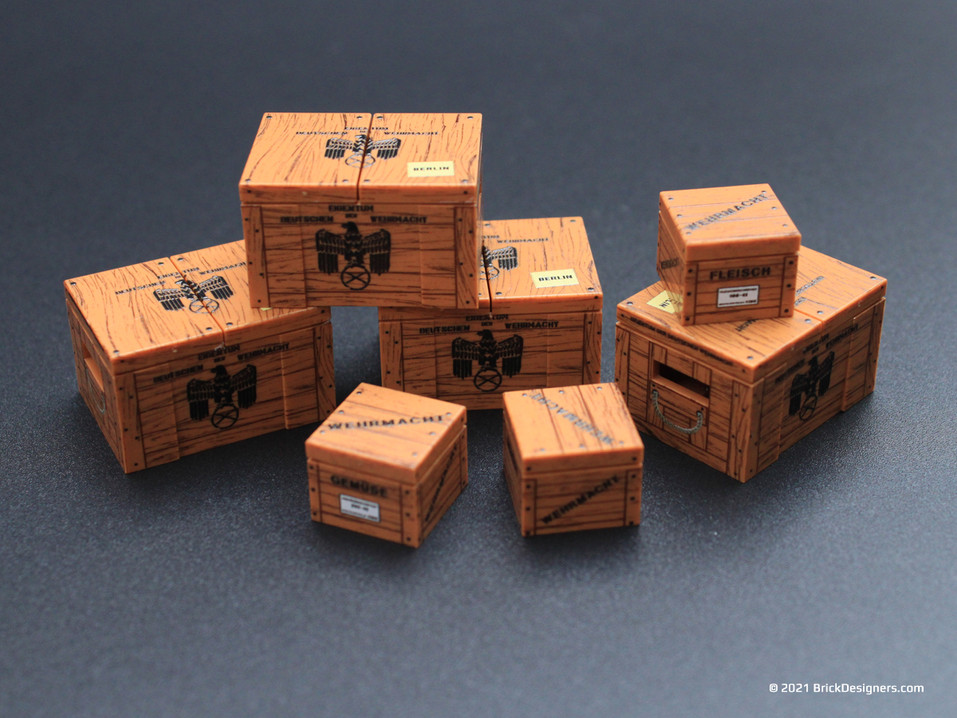 German Supply Crates