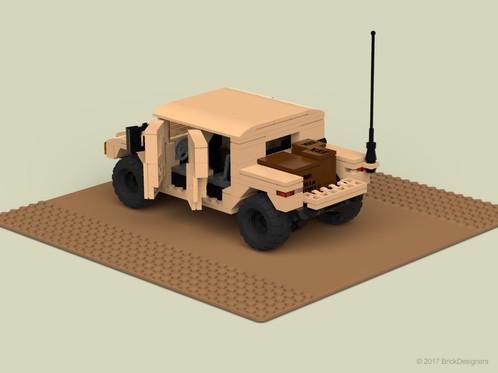 Lego Humvee Cargo