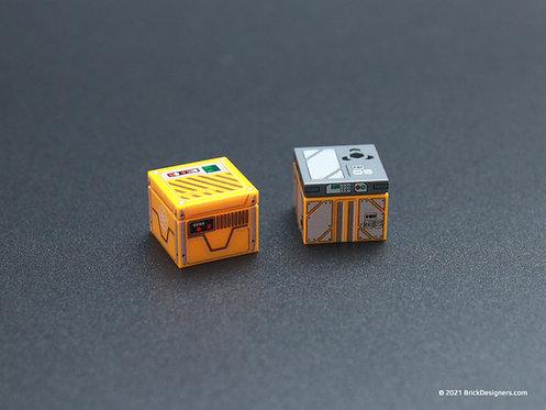 Printed Parts - Sci Fi Box