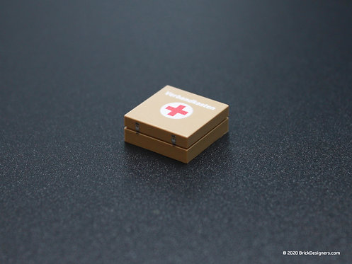 Printed Parts - First Aid Box (German)