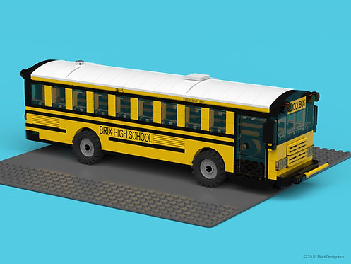 """School Bus - """"Flat Front"""""""