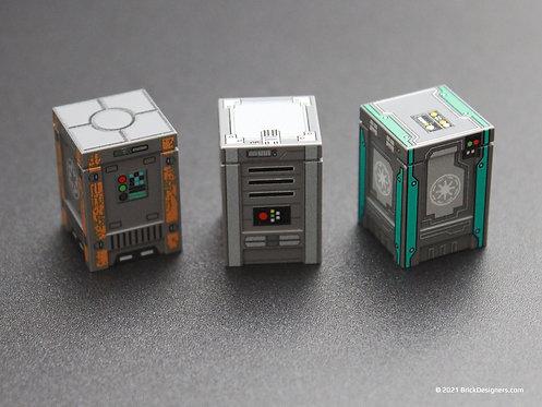 Printed Parts - Sci-Fi Crates