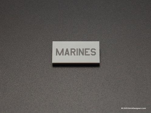 """Printed Parts - """"Marines"""" Marking"""
