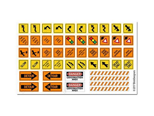 Lego Traffic Signs