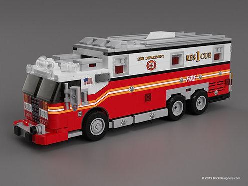 Lego Rescue Truck