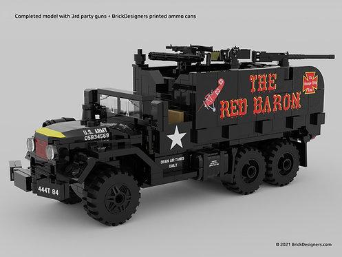 Printed Parts Pack - Gun Truck