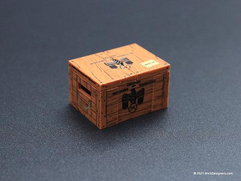Printed Parts - German Supply Crates
