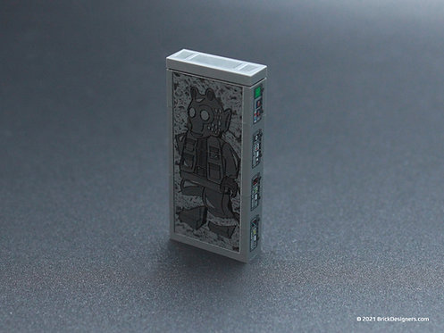 Printed Parts - Hibernation Pods