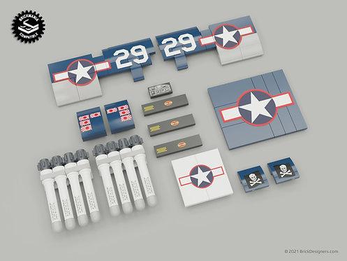 Printed Artwork - WWII Carrier-Based Fighter