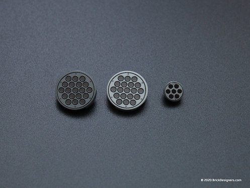 Printed Parts - Rocket Pod tiles