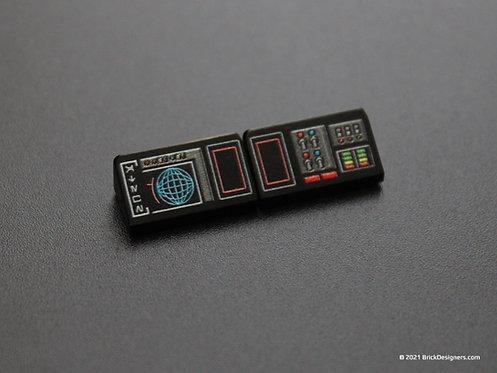Printed Parts - Spaceship Console