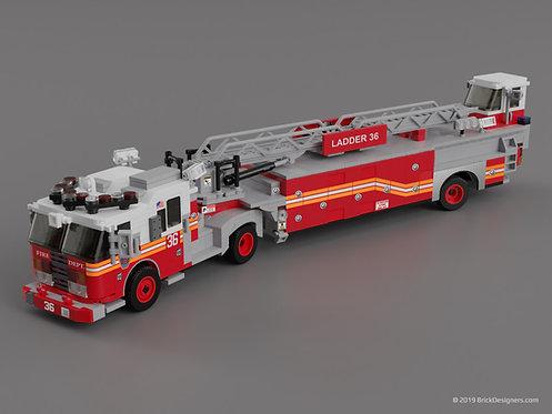 Lego Tiller Truck