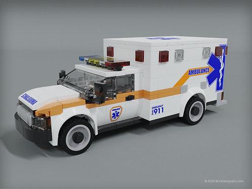 Ambulance - Orange/Blue