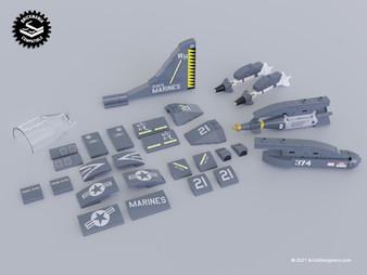 V/STOL Printed Parts Pack