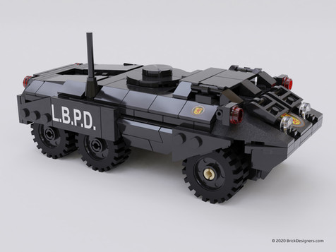 Police Armored Vehicle