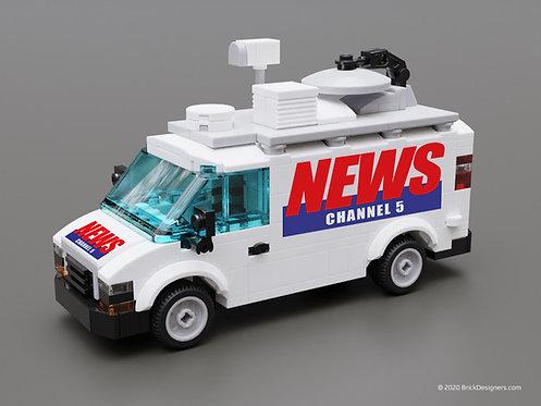 Lego TV Van