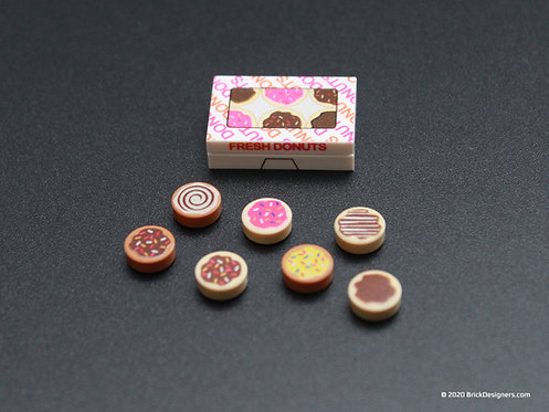 Printed Parts - Donut Boxes