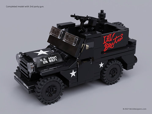 Printed Parts Pack - Armored Utility Vehicle