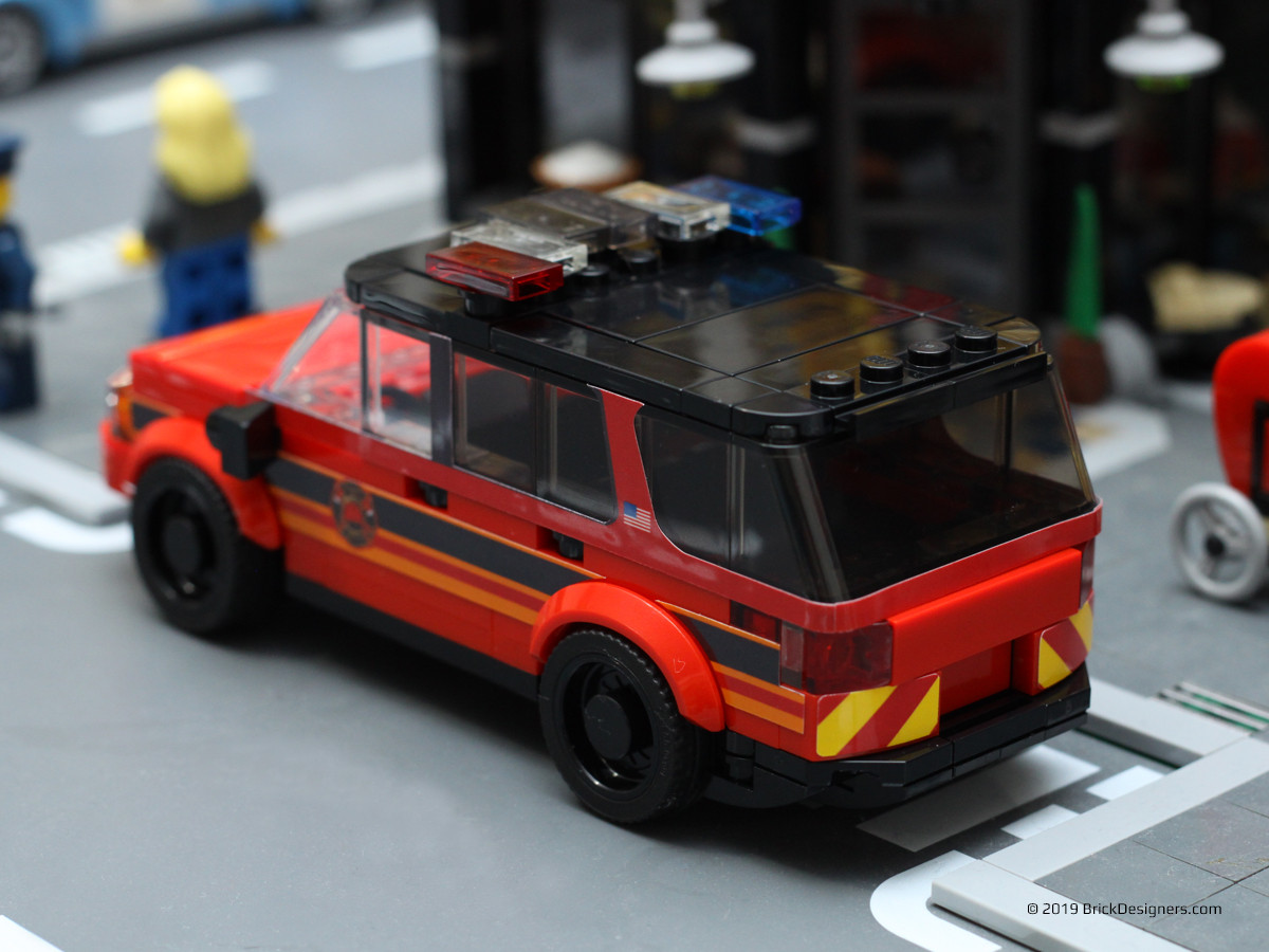 Fire Chief SUV