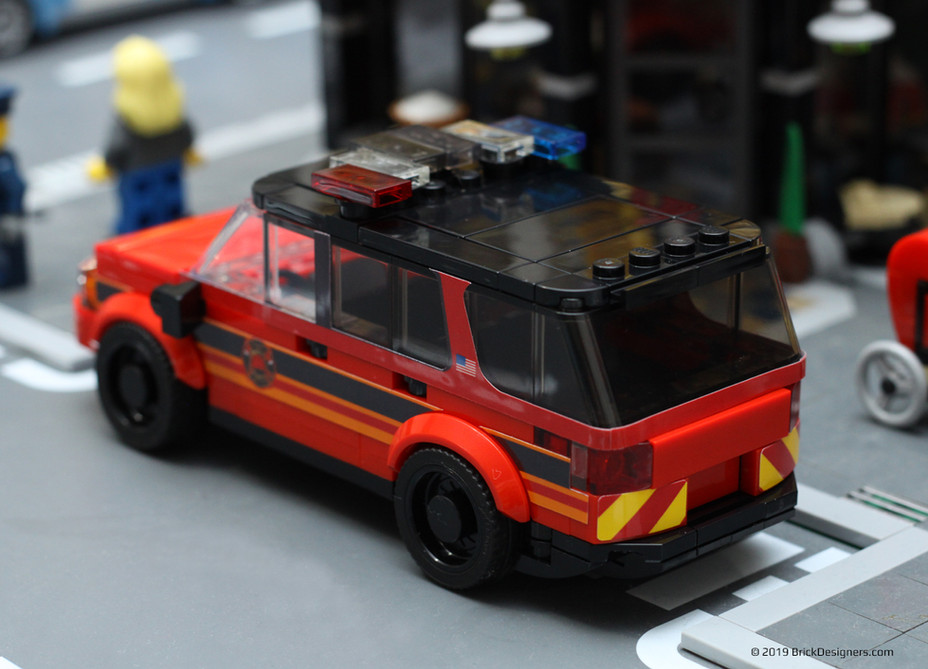 Fire Chief SUV