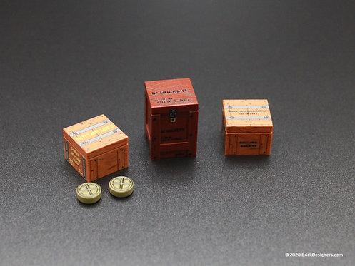 Printed Parts - Crates