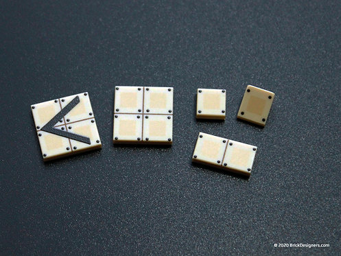 Printed Parts - Reactive Armor Tiles and Plate