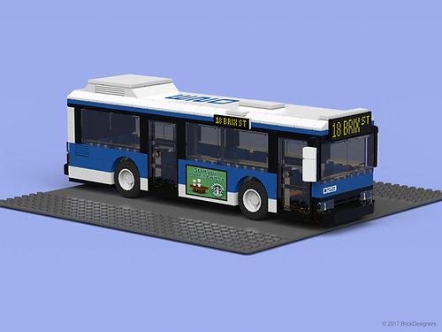 Lego Custom Stickers & MOCs   BrickDesigners   Lego City Bus