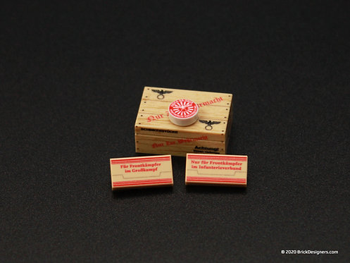Printed Parts - Ration Units (WWII German)