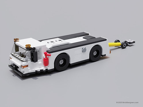 Lego Tow Bar Tractor