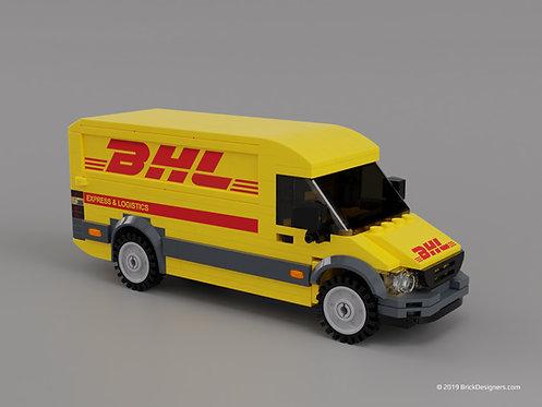 Lego Courier Van