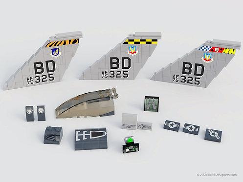 Printed Artwork - Multirole Fighter Jet Parts Pack