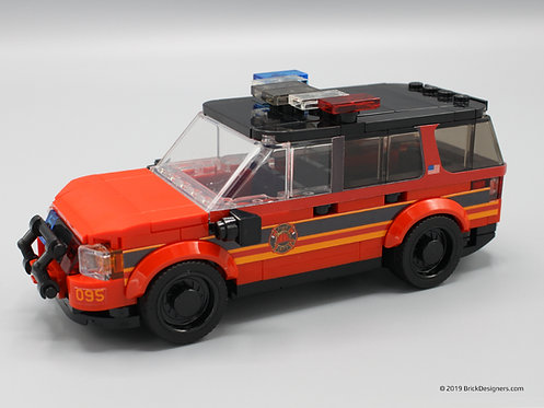 Fire Chief SUV - Set