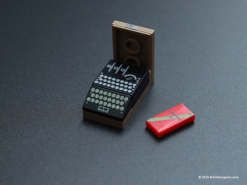 Printed Parts - Enigma Machine