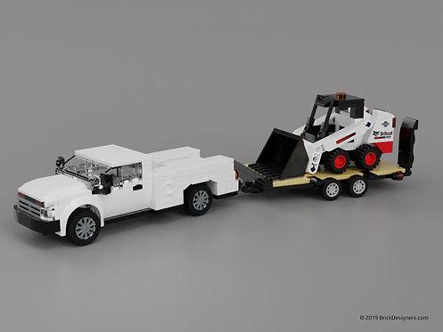 Lego Skid-steer