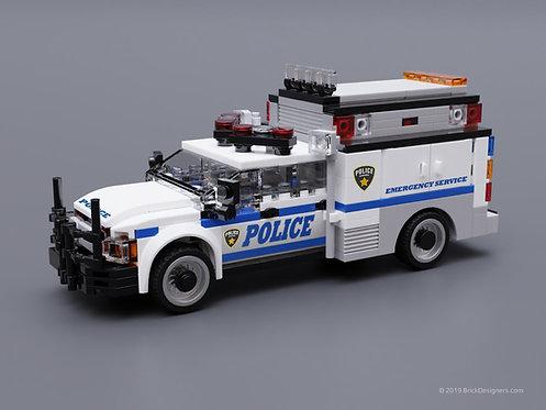 Police Emergency Service Truck