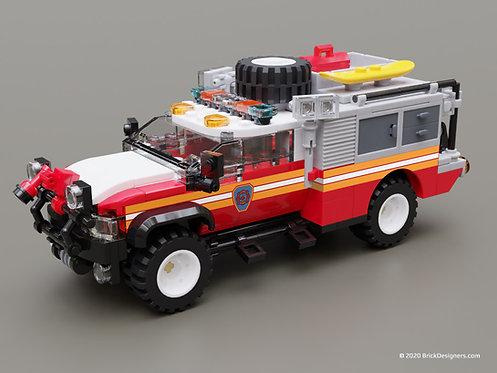 Lego FDNY Truck