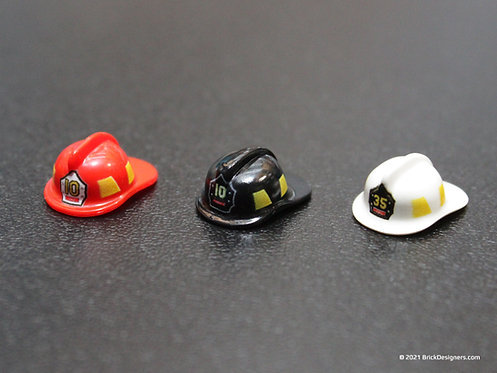 Printed Parts - Fire Helmets