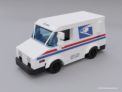 Lego Mail Truck