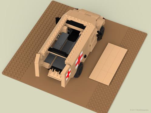 Lego Humvee Ambulance
