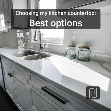 Choosing my kitchen countertop: best options