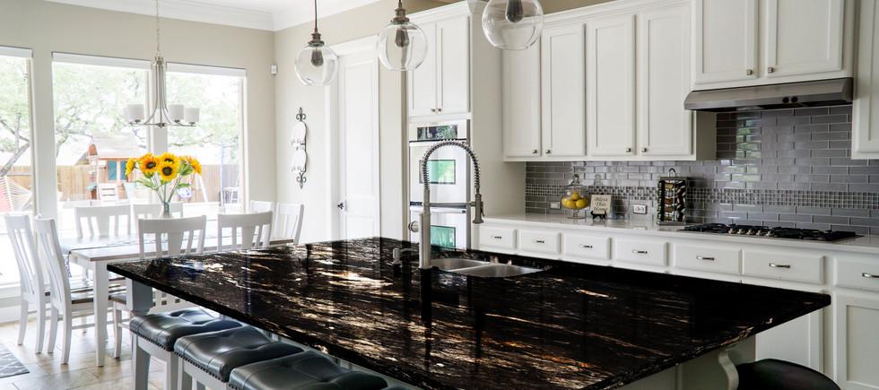 Titanium Black kitchen countertop