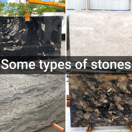 Some types of stones
