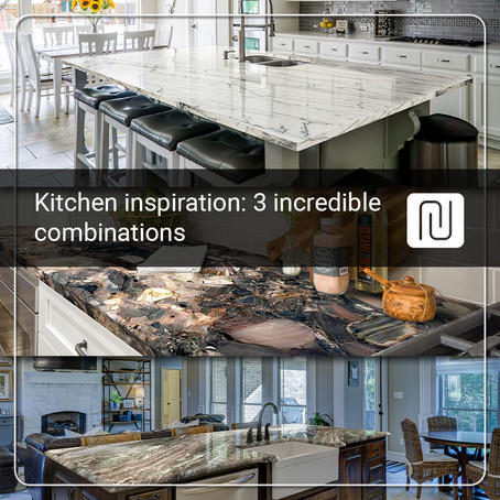 Kitchen inspiration: 3 incredible combinations of countertops and cabinets