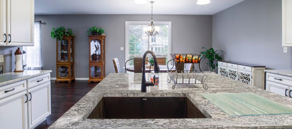 Magnific White Granite countertop