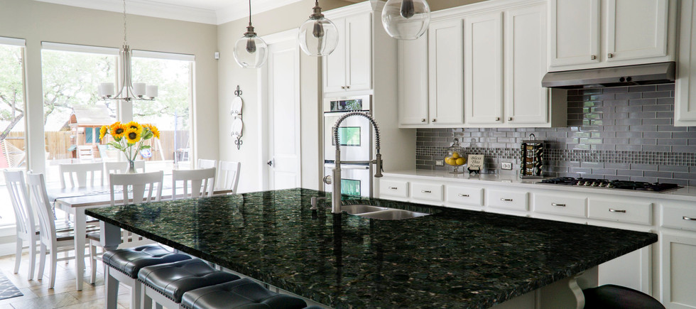 Butterfly kitchen countertop