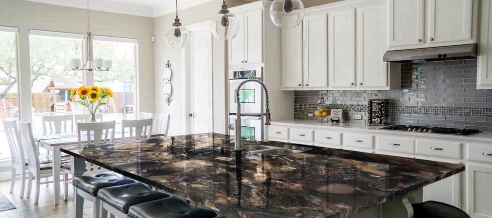 Excalibur Quartzite kitchen countertop