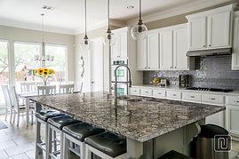 Granite Kitchen Countertop Magnific White
