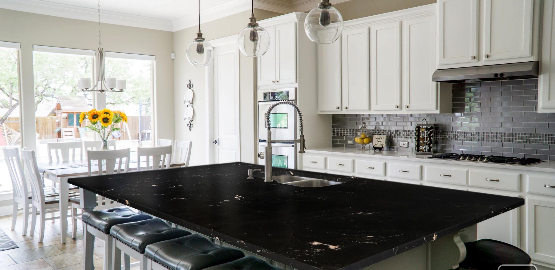 Negresco Quartzite Kitchen Countertop